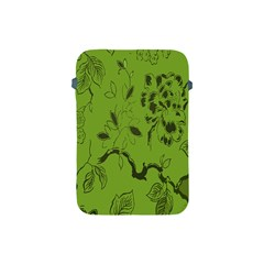 Abstract Green Background Natural Motive Apple Ipad Mini Protective Soft Cases by Simbadda