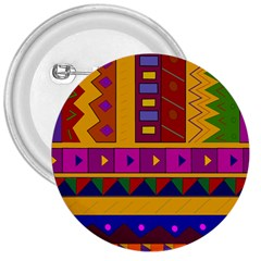 Abstract A Colorful Modern Illustration 3  Buttons by Simbadda