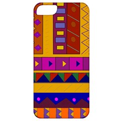 Abstract A Colorful Modern Illustration Apple iPhone 5 Classic Hardshell Case