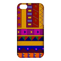 Abstract A Colorful Modern Illustration Apple Iphone 5c Hardshell Case by Simbadda