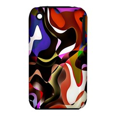Colourful Abstract Background Design Iphone 3s/3gs by Simbadda