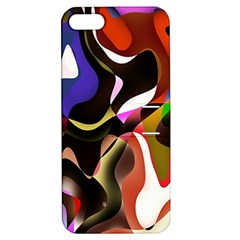 Colourful Abstract Background Design Apple Iphone 5 Hardshell Case With Stand by Simbadda