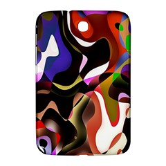 Colourful Abstract Background Design Samsung Galaxy Note 8 0 N5100 Hardshell Case  by Simbadda
