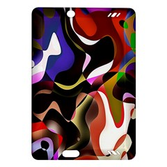 Colourful Abstract Background Design Amazon Kindle Fire Hd (2013) Hardshell Case by Simbadda