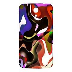 Colourful Abstract Background Design Samsung Galaxy Mega I9200 Hardshell Back Case by Simbadda