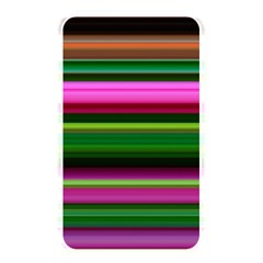 Multi Colored Stripes Background Wallpaper Memory Card Reader by Simbadda