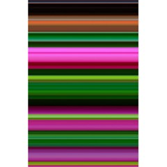 Multi Colored Stripes Background Wallpaper 5 5  X 8 5  Notebooks by Simbadda