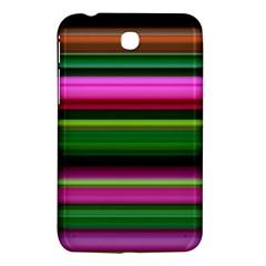 Multi Colored Stripes Background Wallpaper Samsung Galaxy Tab 3 (7 ) P3200 Hardshell Case  by Simbadda