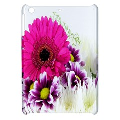 Pink Purple And White Flower Bouquet Apple Ipad Mini Hardshell Case by Simbadda