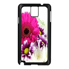 Pink Purple And White Flower Bouquet Samsung Galaxy Note 3 N9005 Case (black) by Simbadda
