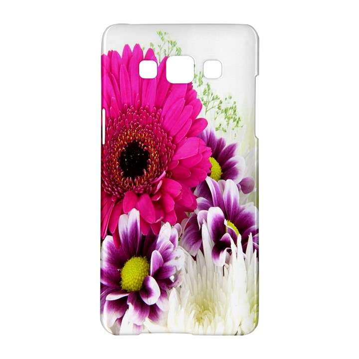 Pink Purple And White Flower Bouquet Samsung Galaxy A5 Hardshell Case