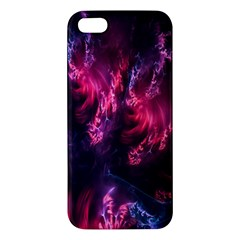 Abstract Fractal Background Wallpaper Iphone 5s/ Se Premium Hardshell Case by Simbadda