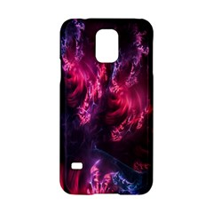 Abstract Fractal Background Wallpaper Samsung Galaxy S5 Hardshell Case  by Simbadda
