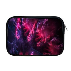 Abstract Fractal Background Wallpaper Apple Macbook Pro 17  Zipper Case by Simbadda