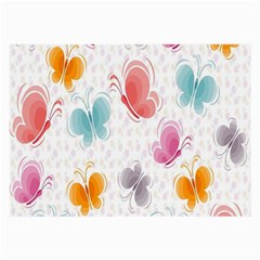 Butterfly Pattern Vector Art Wallpaper Large Glasses Cloth by Simbadda