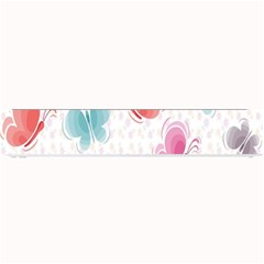 Butterfly Pattern Vector Art Wallpaper Small Bar Mats by Simbadda