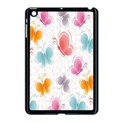 Butterfly Pattern Vector Art Wallpaper Apple Ipad Mini Case (black) by Simbadda