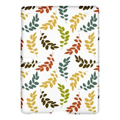 Colorful Leaves Seamless Wallpaper Pattern Background Samsung Galaxy Tab S (10 5 ) Hardshell Case  by Simbadda