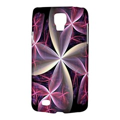 Pink And Cream Fractal Image Of Flower With Kisses Galaxy S4 Active by Simbadda
