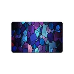 Cubes Vector Art Background Magnet (name Card) by Simbadda