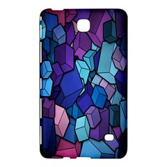 Cubes Vector Art Background Samsung Galaxy Tab 4 (8 ) Hardshell Case