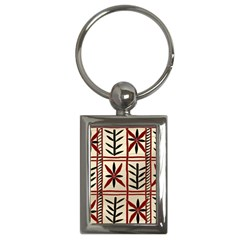 Abstract A Colorful Modern Illustration Pattern Key Chains (rectangle)  by Simbadda