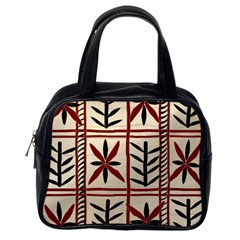 Abstract A Colorful Modern Illustration Pattern Classic Handbags (one Side) by Simbadda