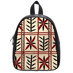 Abstract A Colorful Modern Illustration Pattern School Bags (small)  by Simbadda