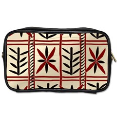 Abstract A Colorful Modern Illustration Pattern Toiletries Bags by Simbadda