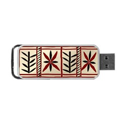 Abstract A Colorful Modern Illustration Pattern Portable Usb Flash (one Side) by Simbadda