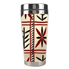 Abstract A Colorful Modern Illustration Pattern Stainless Steel Travel Tumblers by Simbadda
