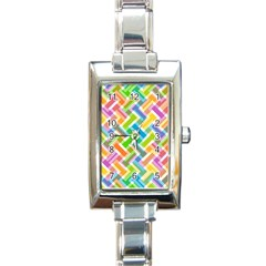 Abstract Pattern Colorful Wallpaper Background Rectangle Italian Charm Watch
