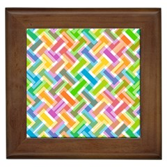 Abstract Pattern Colorful Wallpaper Background Framed Tiles
