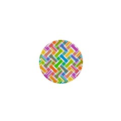 Abstract Pattern Colorful Wallpaper Background 1  Mini Magnets