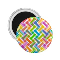 Abstract Pattern Colorful Wallpaper Background 2.25  Magnets