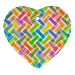 Abstract Pattern Colorful Wallpaper Background Ornament (Heart)