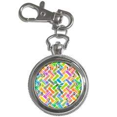 Abstract Pattern Colorful Wallpaper Background Key Chain Watches