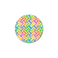 Abstract Pattern Colorful Wallpaper Background Golf Ball Marker (4 pack)