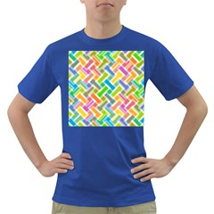 Abstract Pattern Colorful Wallpaper Background Dark T-Shirt