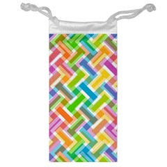 Abstract Pattern Colorful Wallpaper Background Jewelry Bag