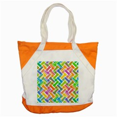 Abstract Pattern Colorful Wallpaper Background Accent Tote Bag