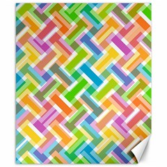 Abstract Pattern Colorful Wallpaper Background Canvas 8  x 10