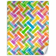 Abstract Pattern Colorful Wallpaper Background Canvas 12  x 16