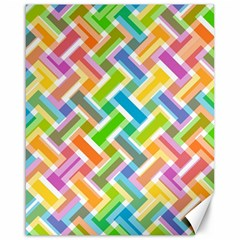 Abstract Pattern Colorful Wallpaper Background Canvas 16  x 20