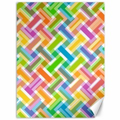 Abstract Pattern Colorful Wallpaper Background Canvas 36  x 48