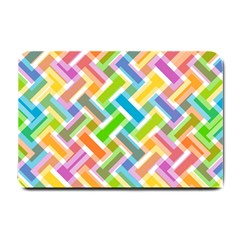 Abstract Pattern Colorful Wallpaper Background Small Doormat