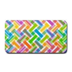 Abstract Pattern Colorful Wallpaper Background Medium Bar Mats