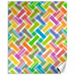 Abstract Pattern Colorful Wallpaper Background Canvas 11  x 14