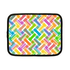 Abstract Pattern Colorful Wallpaper Background Netbook Case (Small)
