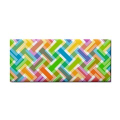 Abstract Pattern Colorful Wallpaper Background Cosmetic Storage Cases